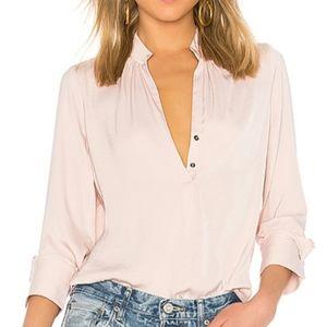 David Lerner Bohemian Blouse Light Pink Size Large